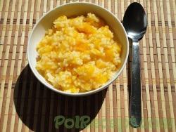 Вкусная тыквенная рисовая каша на воде