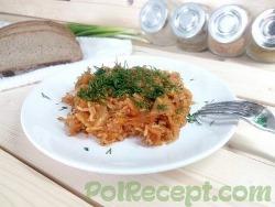 Рис с капустой в мультиварке — рецепт диетического гарнира