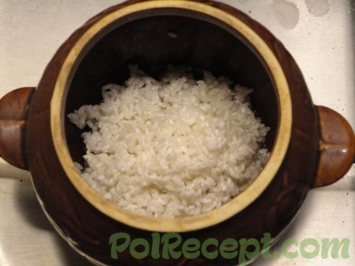 рис в горшочке