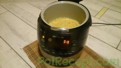 мультиварка с готовым рисом