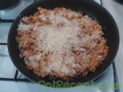 овощи и рис с сыром