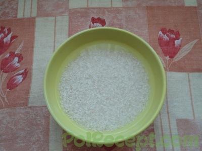 рис в воде