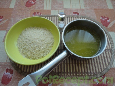 бульон и рис