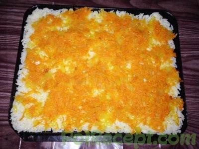 рис морковь и лук