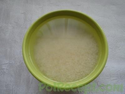 вымоченный рис