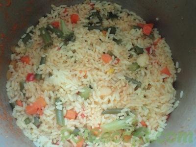 готовый рис в мультиварке