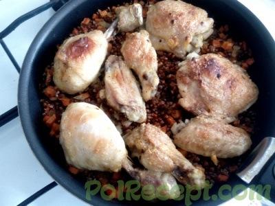 готовое блюдо в форме