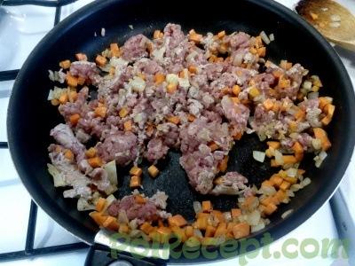 лук чеснок морковь мясо