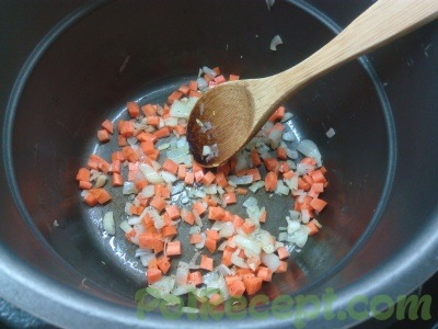 лук чеснок морковь в мультиварке
