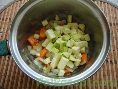 овощи в сотейнике