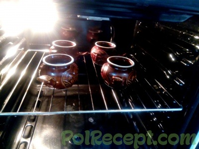 горшочки в духовке