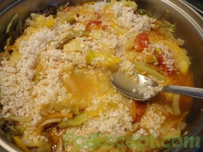 зажарка с рисом