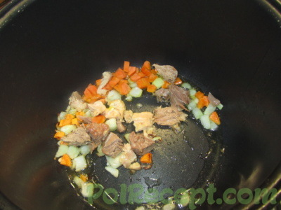 овощи и мясо